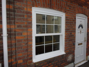 Vertical sliding windows repaired